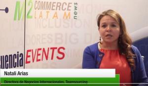 Natali Arias, Directora de Negocios Internacionales, Teamsourcing