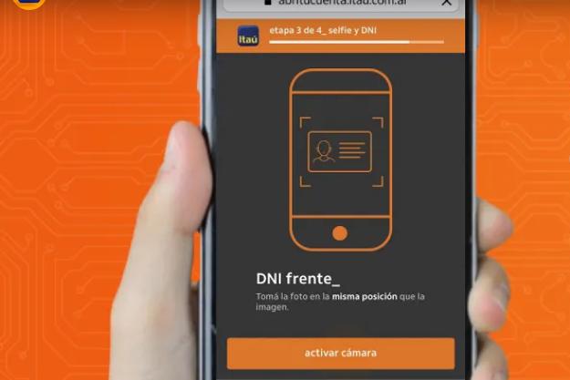 Itaú lanza solución para abrir una cuenta 100% digital
